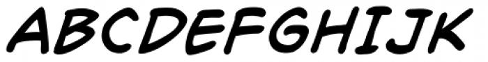 Richard Starkings Italic Font UPPERCASE