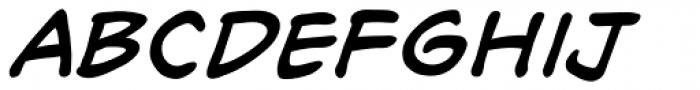 Richard Starkings Italic Font LOWERCASE