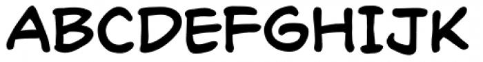 Richard Starkings Font UPPERCASE