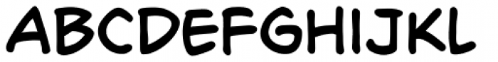 Richard Starkings Font LOWERCASE