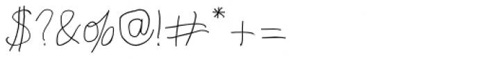 Richfont BT Roman Font OTHER CHARS