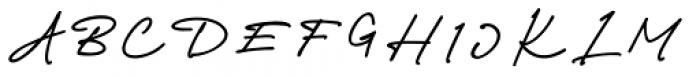 Richland Regular Font UPPERCASE