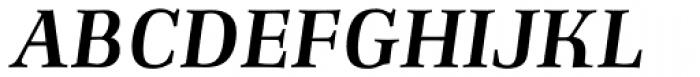 Richler Bold Italic Font UPPERCASE
