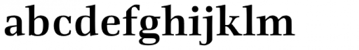 Richler Bold Font LOWERCASE