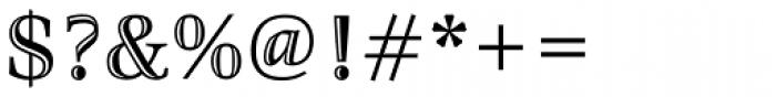 Richler Cyrillic Highlight Font OTHER CHARS
