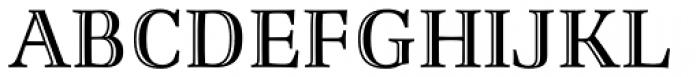 Richler Greek Highlight Font UPPERCASE