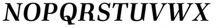Richler Pro Bold Italic Font UPPERCASE