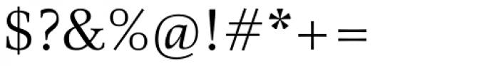 Richler Pro Regular Font OTHER CHARS