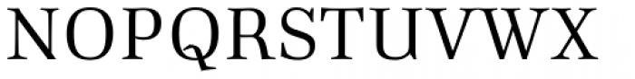 Richler Regular Font UPPERCASE