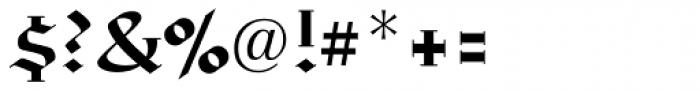 Richmond Fraktur Regular Font OTHER CHARS