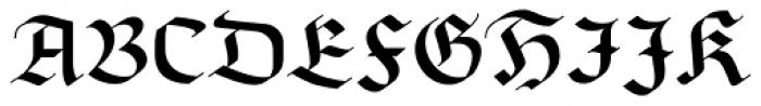 Richmond Fraktur Regular Font UPPERCASE
