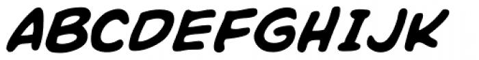 Rick Veitch Italic Font UPPERCASE