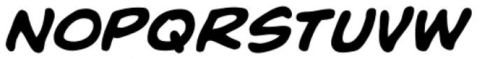Rick Veitch Italic Font LOWERCASE