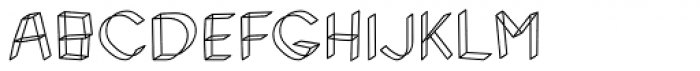 Rickety Font UPPERCASE