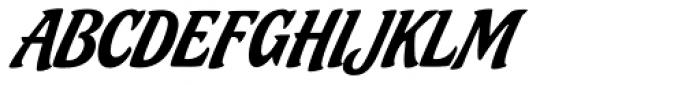 Ricotta Script Font UPPERCASE