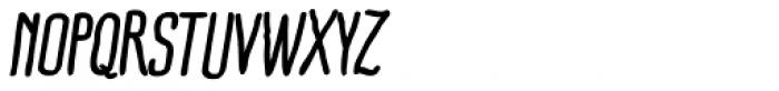 Ride my Bike Pro Bold Italic Font UPPERCASE