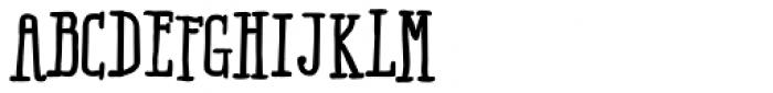 Ride my Bike Serif Essential Bold Font UPPERCASE