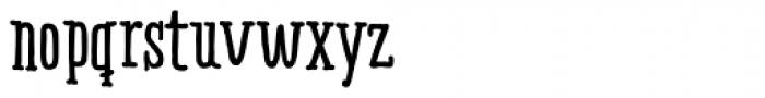 Ride my Bike Serif Essential Bold Font LOWERCASE
