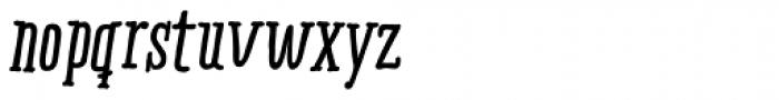 Ride my Bike Serif Pro Bold Italic Font LOWERCASE