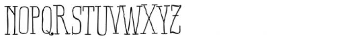 Ride my Bike Serif Pro Font UPPERCASE