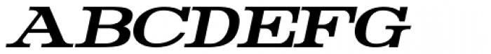 Rider Bold Italic Font UPPERCASE