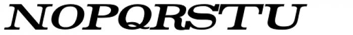 Rider Bold Italic Font LOWERCASE