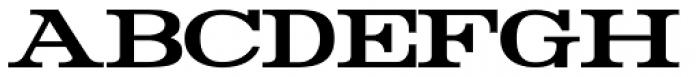 Rider Bold Font UPPERCASE