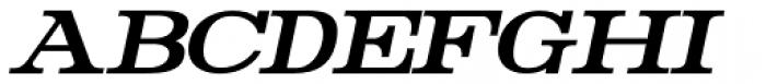 Rider Condensed Bold Italic Font UPPERCASE