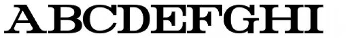Rider Condensed Bold Font UPPERCASE