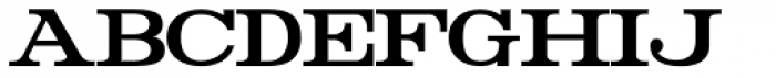 Rider Condensed Bold Font LOWERCASE
