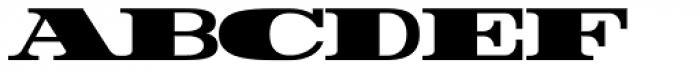 Rider ExtraBlack Font LOWERCASE
