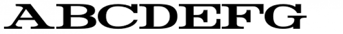 Rider WideExpanded Bold Font LOWERCASE