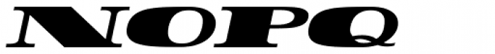 Rider WideExpanded ExtraBlack Italic Font UPPERCASE