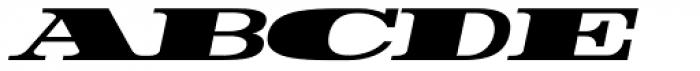 Rider WideExpanded ExtraBlack Italic Font LOWERCASE