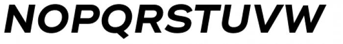 Ridley Grotesk Bold Italic Font UPPERCASE