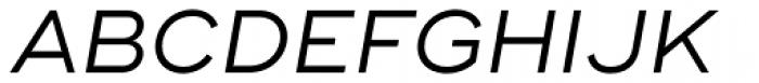 Ridley Grotesk Italic Font UPPERCASE