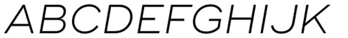 Ridley Grotesk Light Italic Font UPPERCASE