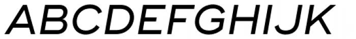 Ridley Grotesk Medium Italic Font UPPERCASE