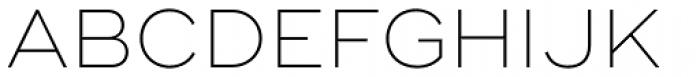 Ridley Grotesk Ultra Light Font UPPERCASE