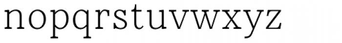 Rieux Light Font LOWERCASE