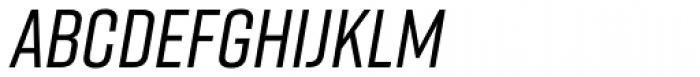 Rift Medium Italic Font UPPERCASE
