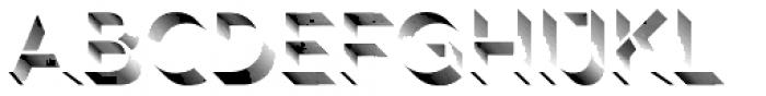 Rig Shaded Light Shading Fine Font LOWERCASE
