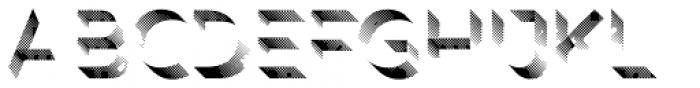 Rig Shaded Zero Shading Coarse Font LOWERCASE