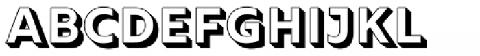 Rig Solid Bold Fill Font UPPERCASE