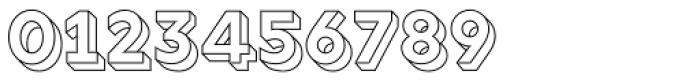 Rig Solid Bold Outline Font OTHER CHARS