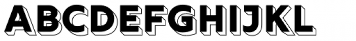 Rig Solid Bold Reverse Font UPPERCASE
