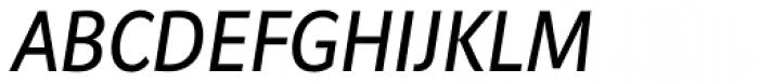 Riga Italic Font UPPERCASE