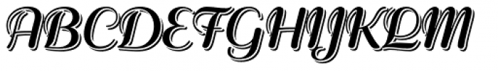 Rigaer Tango Pro Echo Font UPPERCASE