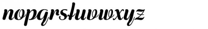 Rigaer Tango Swash Bold Font LOWERCASE