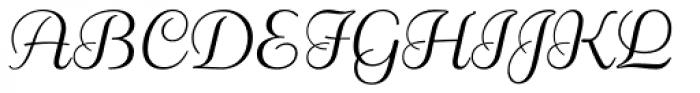 Rigaer Tango Swash Light Font UPPERCASE